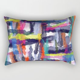 Abstract background 303 Rectangular Pillow
