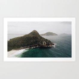 Mount Tomaree Art Print
