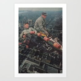 Big City Life Art Print