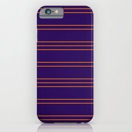 Simple Lines Pattern po iPhone Case