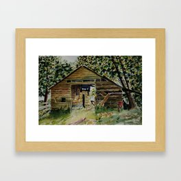 Abandoned Barn Framed Art Print