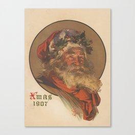 Vintage Santa Claus Illustration (1907) Canvas Print
