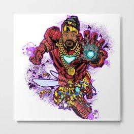 Ghostface Killah aka Tony Starks Metal Print