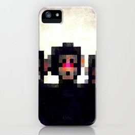 LOOK BEHIND YOU iPhone Case