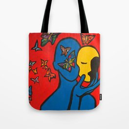 SKIN DEEP  (ORIGINAL SOLD)  #Society6  #decor  #buyart Tote Bag