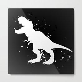 Dinosaur - Graphic Fashion Metal Print
