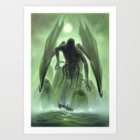 The Call of Cthulhu Art Print