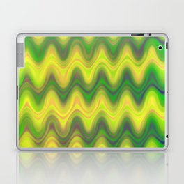 Agate Wave Green - Mineral Series 002 Laptop & iPad Skin