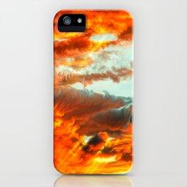 Beautiful Godrays Through Clouds Ultra HD iPhone Case