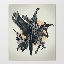 Black Powder Canvas Print