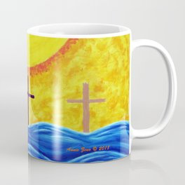 No Matter What Your Race Jesus Saves All By Grace By Annie Zeno Coffee Mug