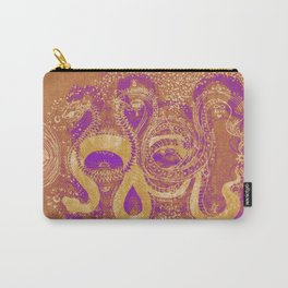 Snake Destiny (Golden Colors) Carry-All Pouch