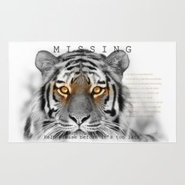 Tiger MISSING Rug