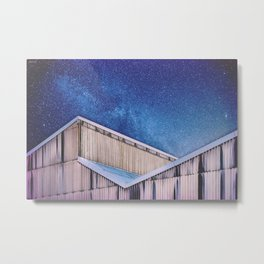 Structure And Stars Metal Print