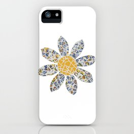 Mosaic Flower 002 iPhone Case