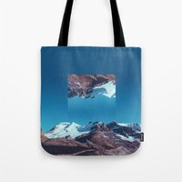 witchoria Tote Bags featuring Sisyphus, I am.  by witchoria