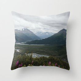 Kenai Fjords Throw Pillow