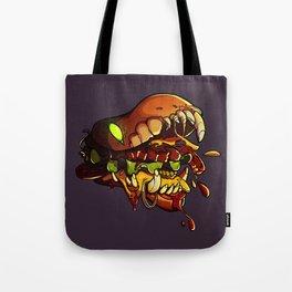 Burgermonster Tote Bag
