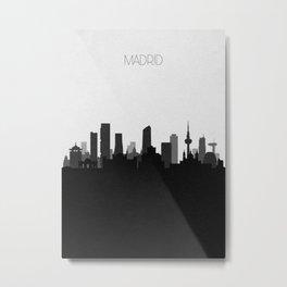 City Skylines: Madrid Metal Print