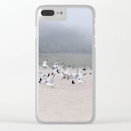 Fog And Friends Clear iPhone Case