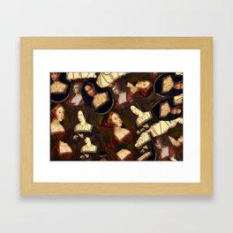 Boleyn Framed Art Print
