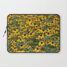Field of Brown Eyed Susans Laptop Sleeve