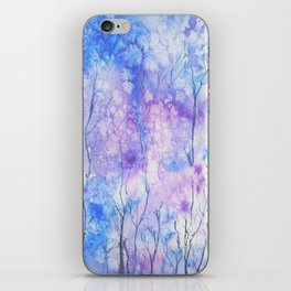 Winter Abstract Watercolour iPhone Skin