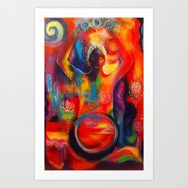 Rise of the Divine Feminine  Art Print