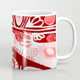 Folk Print Coffee Mug