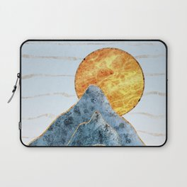 Sunset in the Volcanic Mountains Laptop Sleeve