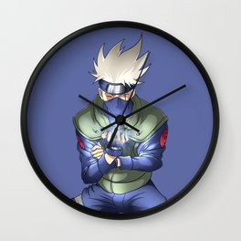 The Ninja from Leaf Village Wall Clock