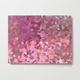 Mozaik Metal Print