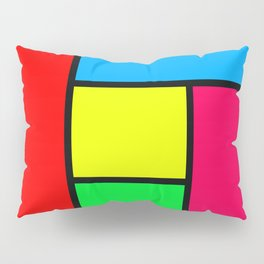 Lack of Talent Abstract #2 Pillow Sham