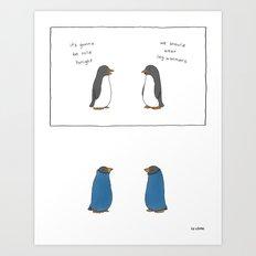 Leg Warmers  Art Print