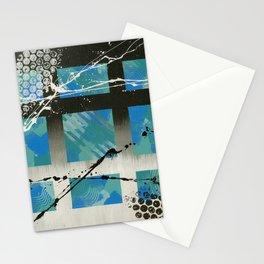 Blue Window Stationery Cards
