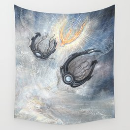 Starships Derelict Space Wall Tapestry