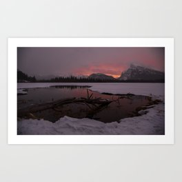 Vermillion Sunrise Two Art Print