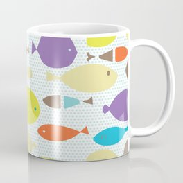 Fish dècor multicolors Coffee Mug