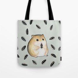 Seed lover hamster Tote Bag