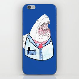 Business Shark iPhone Skin