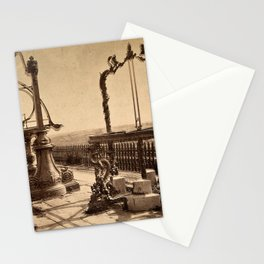 An Azimuthal Horizon, Sextant and Zodiacal Sphere, Ancient Observatory, Peking Stationery Cards
