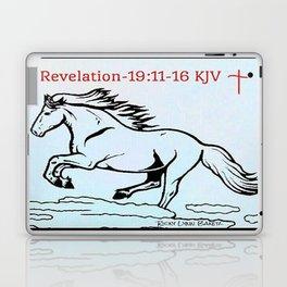 Revelation 19:11=16 KJV Laptop & iPad Skin