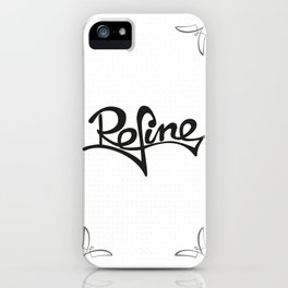 refine iPhone Case