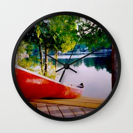 Early Morning, Northern Ontario Wall Clock