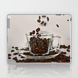 Falling Coffee Beans Laptop & iPad Skin