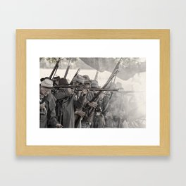 re-load Framed Art Print