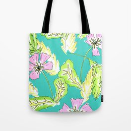 FLORAL XY Tote Bag