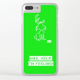 GRINCH Clear iPhone Case