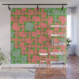 girafe pattern Wall Mural