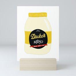 Duke's Mayonnaise Mini Art Print